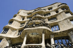 La Pedrera. Casa Mila. Royalty Free Stock Images
