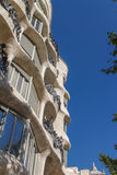 La Pedrera, Famous building designed by Antoni Gaudi Royalty Free Stock Photos