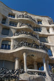 La Pedrera, Famous building designed by Antoni Gaudi Stock Images