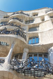 La Pedrera, Famous building designed by Antoni Gaudi Royalty Free Stock Images
