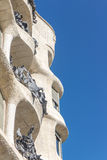 La Pedrera, Famous building designed by Antoni Gaudi Royalty Free Stock Photo