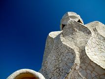 La pedrera - Gaudi's house in Barcelona Stock Images