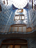 La Pedrera - inside view from. The first floor royalty free stock images