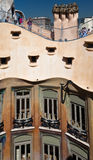La Pedrera Modern Building in Barcelona Stock Images