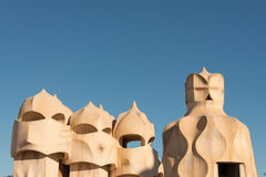 La Pedrera Royalty Free Stock Photography