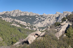 La Pedriza Royalty Free Stock Photos