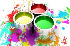 La peinture Image stock