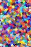 La peinture abstraite a dénommé le fond Images stock