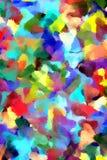 La peinture abstraite a dénommé le fond Image stock