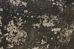 La peinture concrète âgée a donné au papier peint une consistance rugueuse image stock