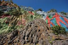 La peinture murale de la préhistoire Image libre de droits
