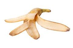 La pelle di banana Immagini Stock Libere da Diritti