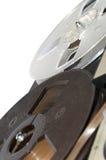 La pellicola per il registratore di nastro della bobina Fotografia Stock Libera da Diritti