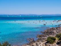 La Pelosa Beach, Stintino, Italy royalty free stock photo