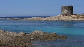 La Pelosa beach , Stintino , Sardinia Royalty Free Stock Photography