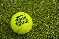 La pelota de tenis oficial de Wimbledon Fotografía de archivo libre de regalías