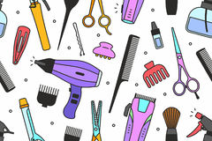 La peluquería de caballeros equipa el modelo ilustración del vector