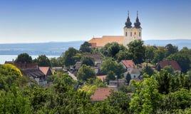 La península de Tihany en Hungría Fotografía de archivo libre de regalías