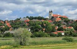 La península de Tihany en Hungría Foto de archivo