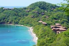 La península Papagayo en Guanacaste, Costa Rica foto de archivo