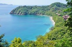 La península Papagayo en Guanacaste, Costa Rica imagenes de archivo