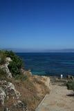 La pendiente al mar Imagen de archivo