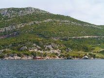 La penisola croata Peljesac Immagine Stock Libera da Diritti
