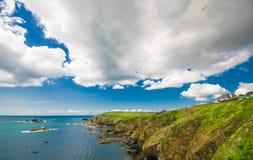 La penisola della lucertola, Cornovaglia Fotografia Stock