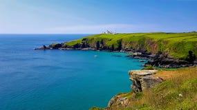 La penisola di Liazrd ulteriore punto al sud del continente Regno Unito immagine stock