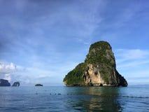 La penisola Railay thailand fotografia stock libera da diritti