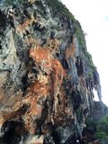 La penisola Railay thailand immagine stock