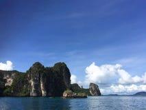 La penisola Railay thailand immagine stock libera da diritti