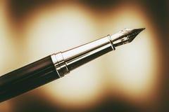 La penna stilografica Fotografia Stock Libera da Diritti
