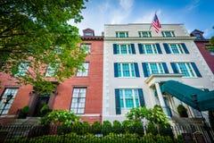 La pensión Blair House del ` s del presidente en Washington, DC foto de archivo