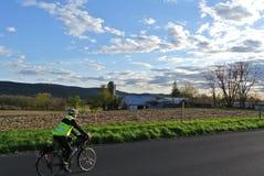 La Pensilvania andante in bicicletta Immagini Stock Libere da Diritti