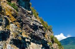 La pente de la montagne Photo libre de droits