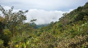 La pente du bâti Sibayak Photos libres de droits