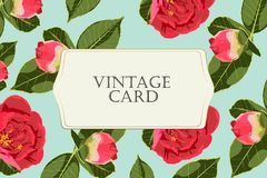 La peonía de las rosas, puede ser utilizada como tarjeta de felicitación, la tarjeta de la invitación para casarse, el cumpleaños libre illustration