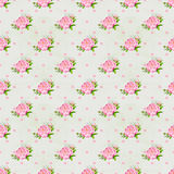 La peonia fiorisce il fondo senza cuciture del modello Fiori rosa teneri Disegno di nozze Illustrazione dell'acquerello Fotografia Stock
