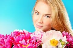 La peonia fiorisce la fragranza immagini stock libere da diritti