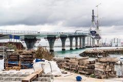 La Pepa Bridge Royalty Free Stock Images
