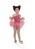 La pequeña bailarina Foto de archivo