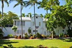 La pequeña Casa Blanca de Harry Truman, Key West fotos de archivo libres de regalías