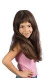 La pequeña muchacha hermosa Fotos de archivo