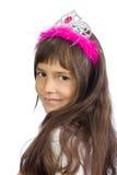 La pequeña princesa Fotografía de archivo libre de regalías