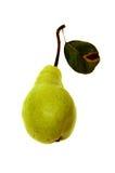 La pera ha isolato Immagini Stock Libere da Diritti