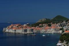 La perla del Adriático - el Dubrovnik Imagen de archivo libre de regalías