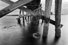 La Perouse-Brücke darunter Lizenzfreie Stockfotos