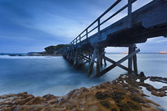 La Perouse Bridge On Right Stock Photo