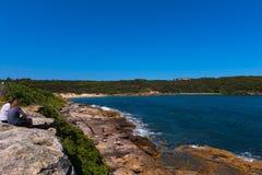 La Perouse-Strand in Sydney Australia Lizenzfreie Stockbilder
